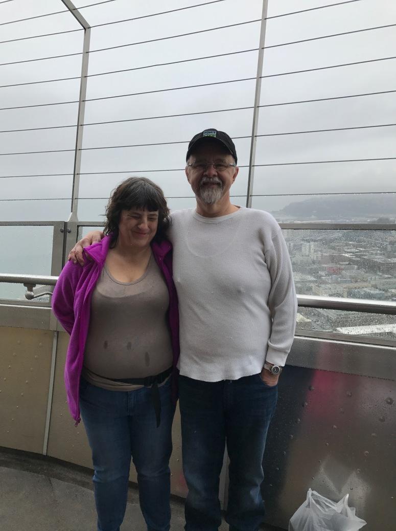 Ben and Rhonda in Seattle
